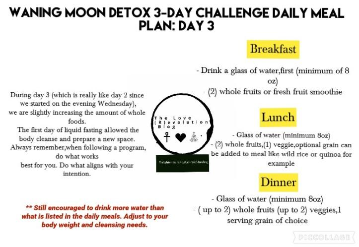 Day 3 Detox