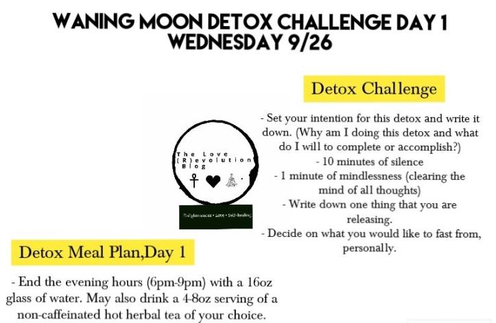 Detox Day 1